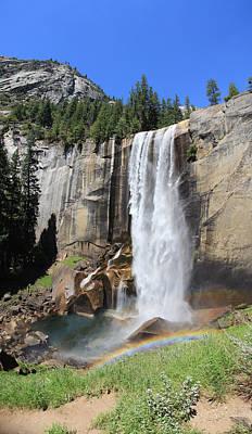 Photograph - Yosemite. Waterfall by Masha Batkova