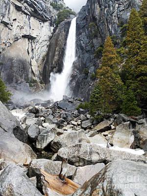 Photograph - Yosemite Waterfall by Scott Shaw