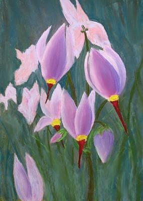 Painting - Yosemite Wildflowers by Patricia Beebe