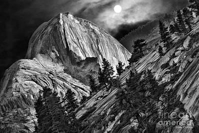 Photograph - Yosemite's Hafe Dome  Eve by Blake Richards