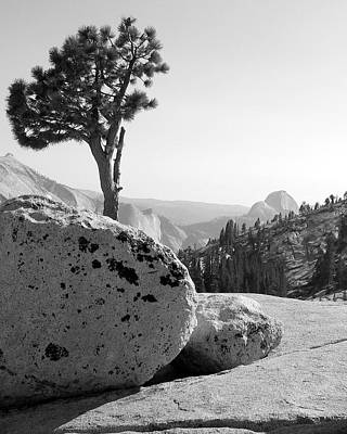 Print featuring the photograph Yosemite's Olmsted Point by Kevin Desrosiers