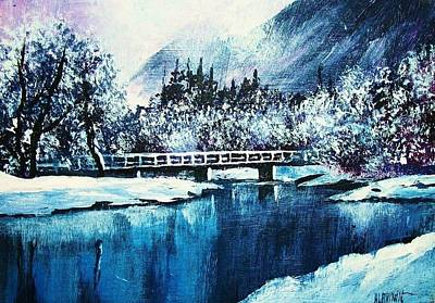 Yosimite Overpass Art Print by Al Brown