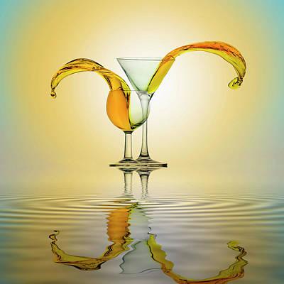 Martini Photograph - You And Me by Ganjar Rahayu