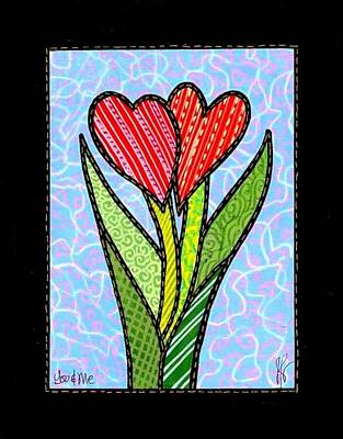 You And Me Art Print by Jim Harris