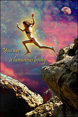 Photograph - You Are A Luminous Being by Randal Bruck