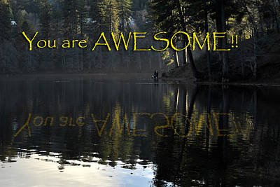 Photograph - You Are Awesome by Randal Bruck