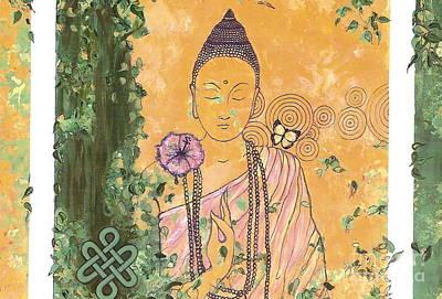 Wall Art - Painting - You Are Buddha-ful by Shakaya Leone