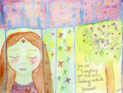 Painting - You Are Everything  by AnaLisa Rutstein