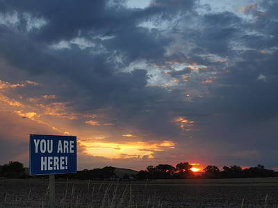 Photograph - You Are Here by HW Kateley