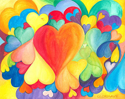 You Are Love - Tu Sei Amore Art Print