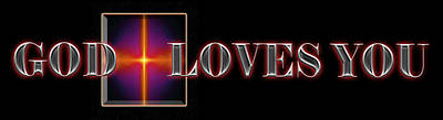 Digital Art - You Are Loved by Carolyn Marshall