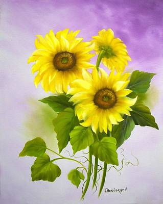 Painting - You Are My Sunshine by Francine Henderson