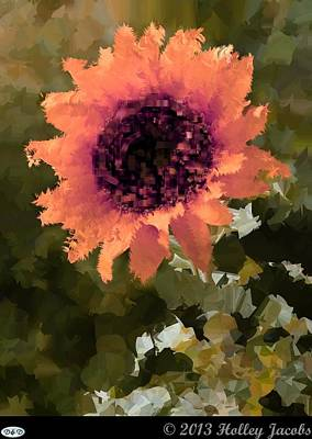 Digital Art - You Are My Sunshine Pink by Holley Jacobs