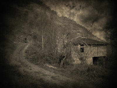 Philosophical Photograph - You Are Not Here by Taylan Apukovska