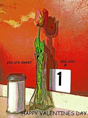 You Are Number 1 Art Print by Joe Pratt