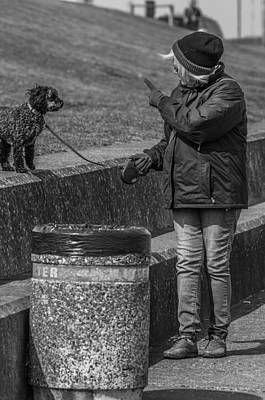 Sheppey Photograph - You Be A Good Dog by Paul Donohoe