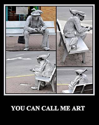 Photograph - You Can Call Me Art by AJ  Schibig