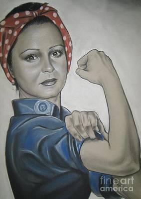 Drawing - You Can Do It by Anastasis  Anastasi