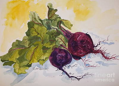 Painting - You Can't Beat Beets by Pat Crowther