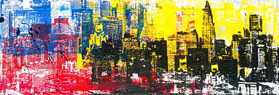 Chrysler Building Mixed Media - You Can't Come Sideways by 624713art