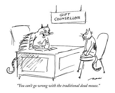 Wrong Drawing - You Can't Go Wrong With The Traditional Dead by Al Ross