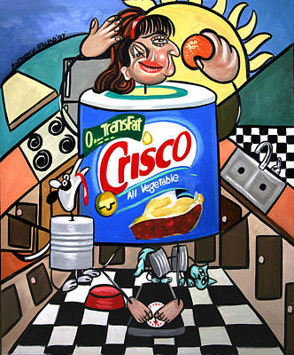Painting - You Can't Pick Your Own Can by Anthony Falbo
