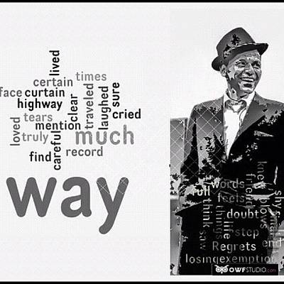 Hollywood Wall Art - Photograph - You Did It Your Way? Frank Sinatra by Manuela Kohl