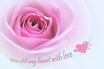 Photograph - You Fill My Heart With Love by Kaye Menner