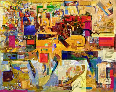 Inner Search Digital Art - You Graciously Endow Man With Wisdom 16f by David Baruch Wolk