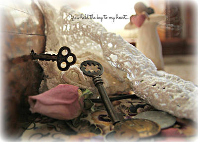 Photograph - You Hold The Key To My Heart by Katie Wing Vigil
