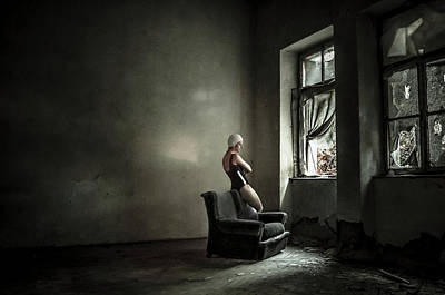 Decay Photograph - You Know Where Where Monica? by Luciano Corti