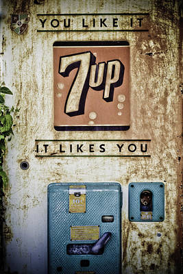 7 Up Photograph - You Like It by Paul Huchton