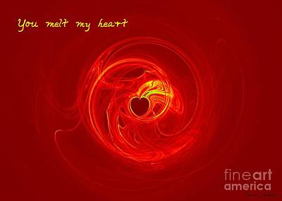 Digital Art - You Melt My Heart by Renee Trenholm