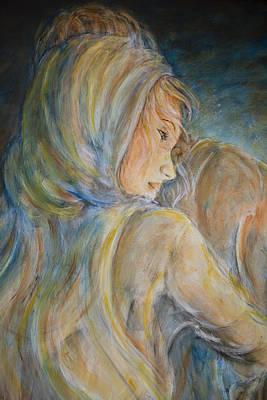 Jesus Painting - You Needed Me Portrait by Nik Helbig