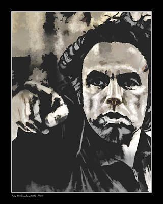 YOU Art Print by Pedro L Gili