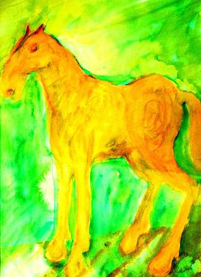 Response Painting - You Really Are Someone Special  by Hilde Widerberg