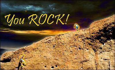 Photograph - You Rock by Randal Bruck