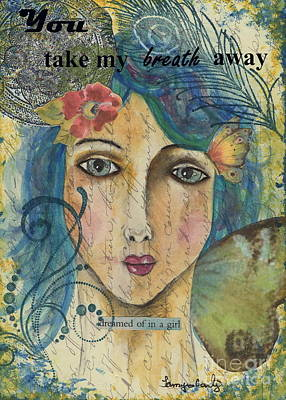 Painting - You Take My Breath Away by Tamyra Crossley