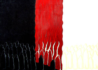 You Were There Art Print by Sandra Yegiazaryan
