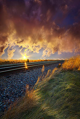Railroads Photograph - You Will Never Walk Alone by Phil Koch
