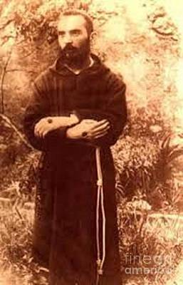 Padre Pio Photograph - Youg Padre Pio by Archangelus Gallery