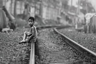 Railroads Photograph - Young And Dangerous by Gunarto Song