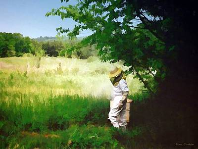 Photograph - Young Beekeeper by Renee Trenholm