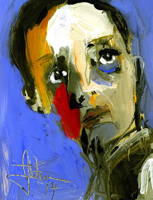 Painting - Young Bogie by Jim Vance