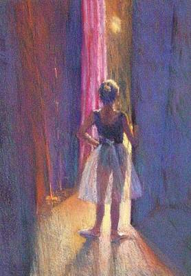 Painting - Young Dancer In The Wings by Jackie Simmonds