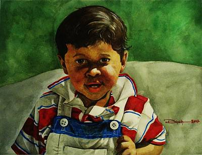 Painting - young Giovanni by Dana Newman