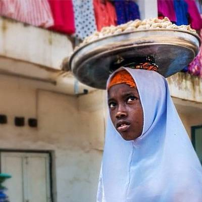 Young Girl Photograph - Young Girl In Jos, Nigeria by Aleck Cartwright