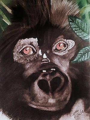 Young Gorilla Art Print