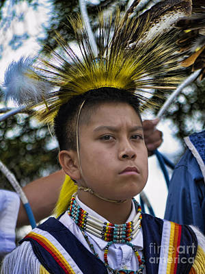 Photograph - Young Hopi by Brenda Kean