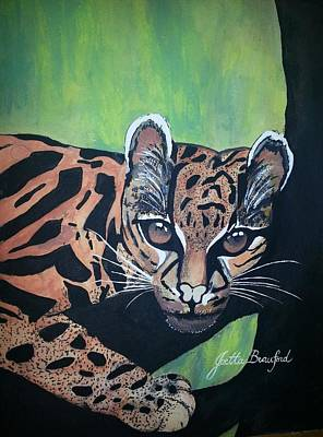 Painting - Young In Wild by Joetta Beauford